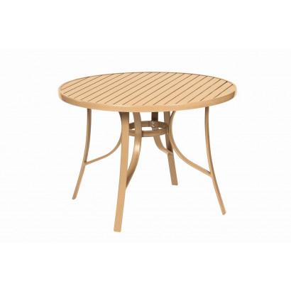 Conjunto 1 mesa + 4 cadeiras + 2 espreguiçadeiras - Butzek - Mestra