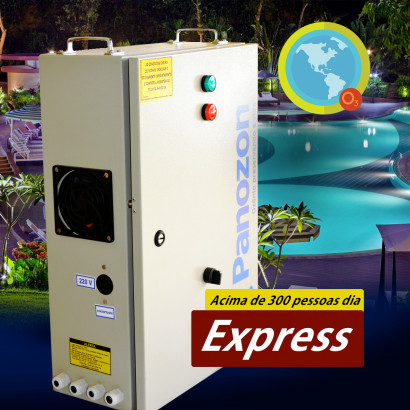 Ozônio para Piscinas de Academia Até 100M³ Express 100 Panozon