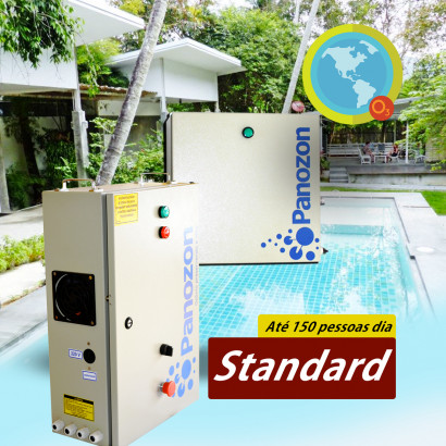 Ozônio para Piscinas de Academia Até 200M³ Standard 200 Panozon