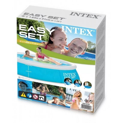 Piscina Easy Set 880L 183 x 51 cm Intex