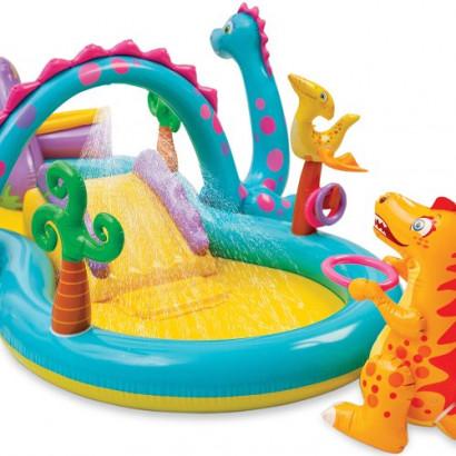 Piscina Playground Mundo Encantado Dinossauro