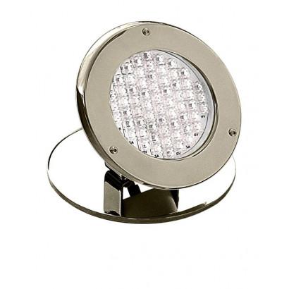 "Refletor LED - Cristal Led - 62 Inox Fonte 7,5w-3/4"""
