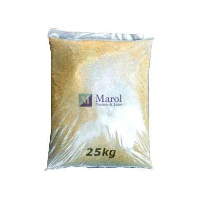 Areia especial para Filtro de piscina - Marol - 25kg