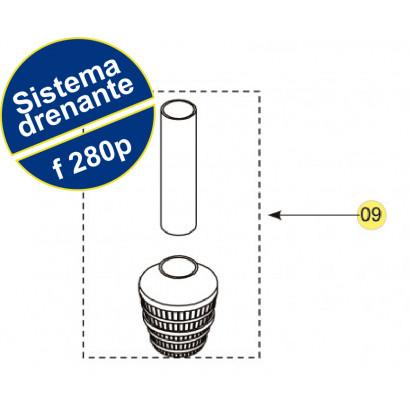Sistema Drenante Completo para filtro F280 Nautilus
