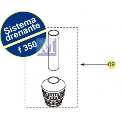 Sistema Drenante Completo para filtro F350 Nautilus