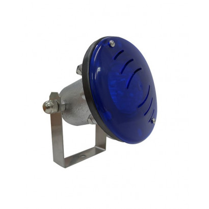 Mini Refletor halógeno para Fonte Luminosa - 50w p/ cabo 5 m² - Sodramar