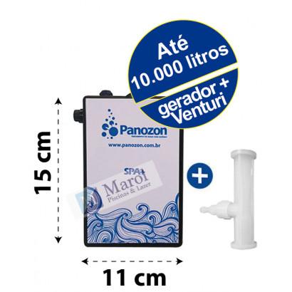 Ozônio SPA para banheiras/spas/ofurôs até 10.000 litros (gerador e venturi) 220V Panozon