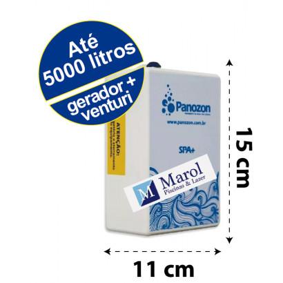 Ozônio SPA+ para banheiras/spas/ofurôs até 5.000 litros (somente gerador)