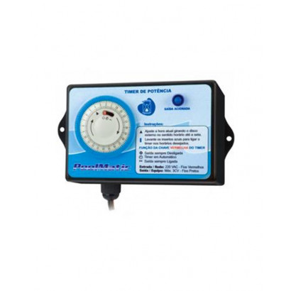 Temporizador - Timer Pool Matic - Pure water
