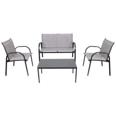 Conjunto Mesa centro e Cadeiras Weekend para Jardim BelFix