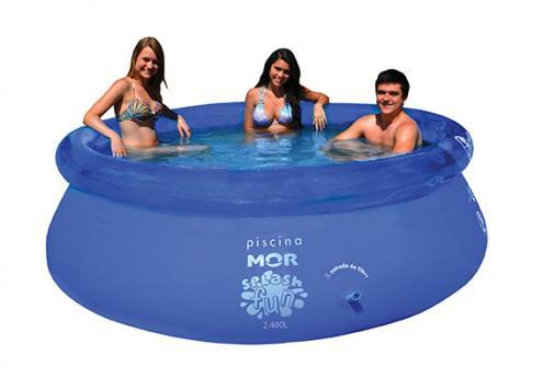 Piscina infl vel splash fun mor 2400 litros marol for Piscina inflavel 8 mil litros