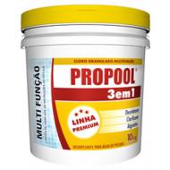 Dicloro Estabilizado Granulado 3 em 1 - Propool - 3kg