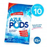 Super Algicida Azulpods Kit com 10 - Maresias