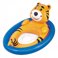 Boia Inflável - Bestway - Circular Seat Animal: Tigre