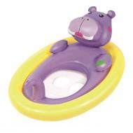 Boia Inflável - Bestway - Circular Seat Animal: Hipopótamo