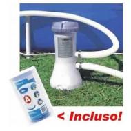 Bomba Filtrante Piscina 2006 L/h 110v Filtro Tipo A Intex #28637