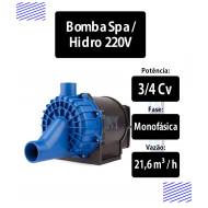 Bomba Spa / Hidromassagem 3/4Cv Monofásica 220v Super Syllent