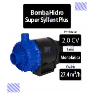 Bomba para Cascata, Solar ou Hidro 2,0CV 220V Alta Vazão Super Syllent Plus