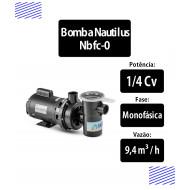 Bomba para piscinas 1/4 CV Monofásica (NBFC0) - Nautilus