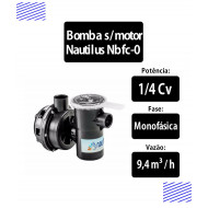 Bomba Sem Motor Para Piscinas 1/4 Cv (Nbfc0) - Nautilus