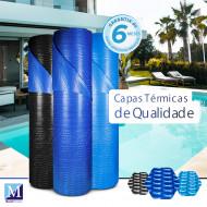 Capa térmica para piscinas - Sob medida