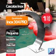 Cascata Slim Pequena Aço Inox 304 Pro