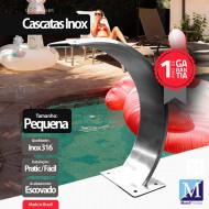 Cascata Slim Pequena Aço Inox 316 Premium Pro