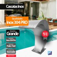 Cascata Vitoria Grande Aço Inox 304 Pro