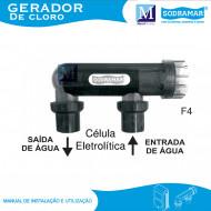 Célula Eletrolítica do gerador de Cloro Sodramar GS-45