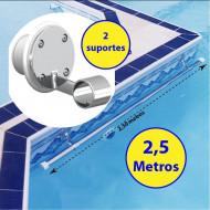 Suporte de corrimão para piscinas de Vinil, Fibra e Alvenaria - Sodramar