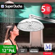 Super Ducha para piscina Alumínio 12