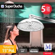 Super Ducha para piscina Alumínio 15