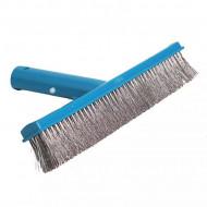Escova Em Aço Inox 25cm Para Piscinas Sodramar