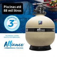 Filtro para piscinas até 88 mil litros FA-60 Alliance