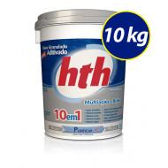 Cloro granulado 10 em 1 balde 10Kg - hth