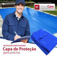 Instalação de capa de proteçao para piscina (Disponível somente para cidade SP)