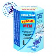Tubolit Mem Reparo para piscina subaquática Massa Epóxi 1kg