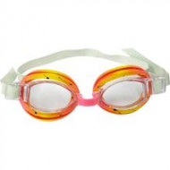 Óculos de Natação Split - Nautika - Amarelo/Vermelho