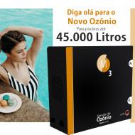 Ozônio para piscina até 45.000 litros O3M tratamento sem cloro