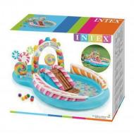 Piscina Infantil Centro de Diversão Candy Zone Intex