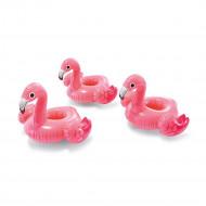 Porta-Copos Flamingo Inflável 3 unidades Intex