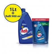 Algicida de manutenção Previne água verde 1 Litro + refil 900 ml - hth