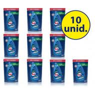10 unidades Previne água verde - algicida de manutenção refil 900 ml - hth