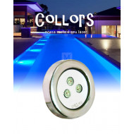 Collors Up inox 9w led para piscina