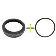 Rosca Pré-filtro Bomba B (anel Trava) com Anel O'ring Da Tampa Do Pré-filtro Jacuzzi