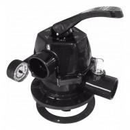 Válvula parafusada para filtros c/ manômetro Nautilus