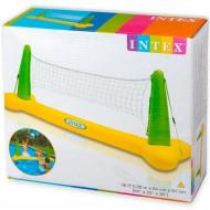 Kit Volei Inflável Para Piscina Com Bola E Rede Intex