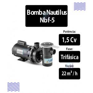 Bomba para piscinas 1,5 CV (NBF5) Trifásica - Nautilus