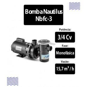 Bomba para piscinas 3/4 CV (NBFC3) - Nautilus
