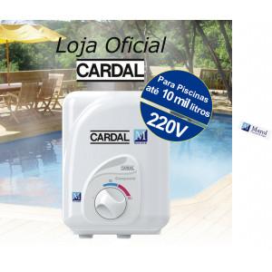 Aquecedor para piscinas até 10.000 litros 220V Cardal